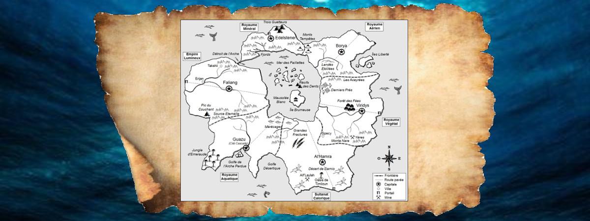 Imprimez la carte du monde